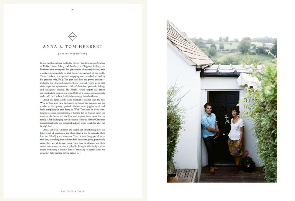 The Kinfolk Table: Recipes for Small Gatherings by Kinfolk - Merchant of York Toronto