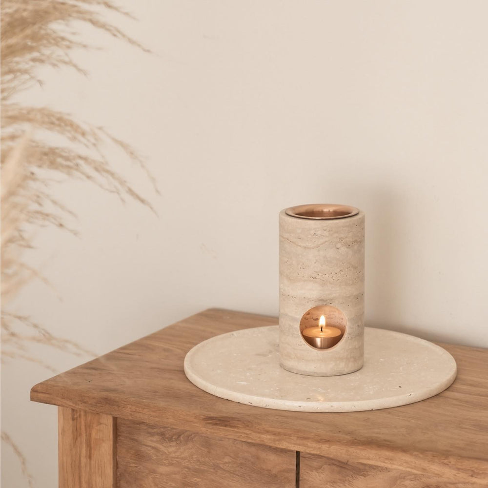 Synergy Oil Burner – Travertine
