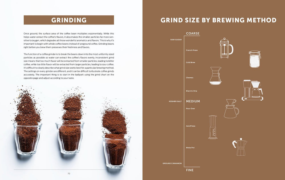 Brew: Better Coffee At Home by Chronicle Books - Merchant of York Toronto