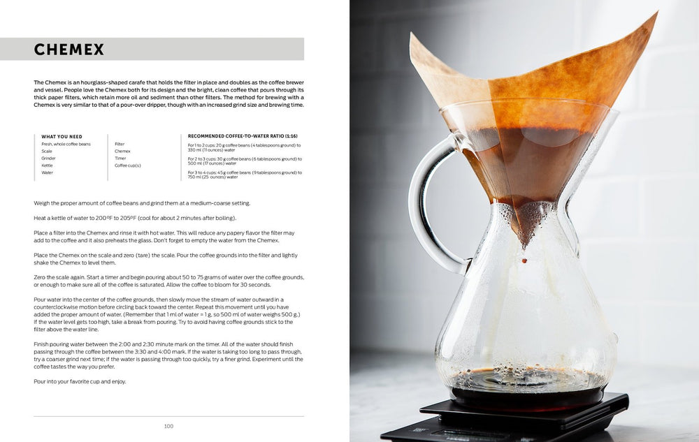 Brew: Better Coffee At Home by Chronicle Books - Merchant of York