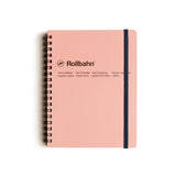 Rollbahn Spiral Notebook - Blush Pink by Delfonics - Merchant of York