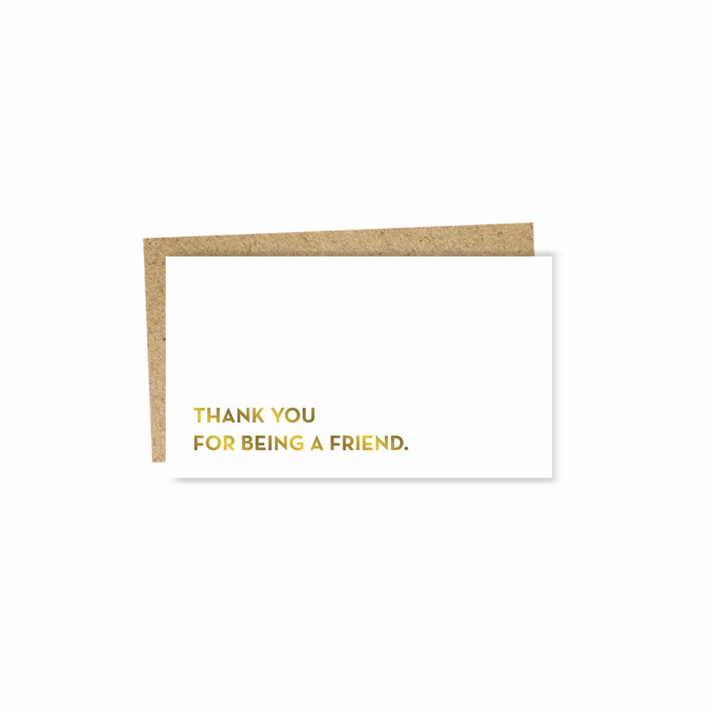 Friend Mini Card by Sapling Press - Merchant of York Toronto