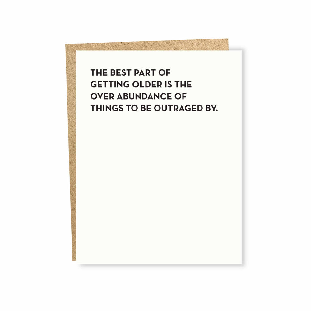 Outrage Card by Sapling Press - Merchant of York Toronto