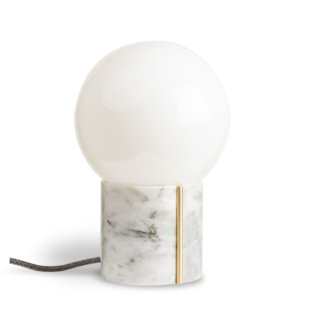 Nocte Lamp - White Marble by And Jacob - Merchant of York