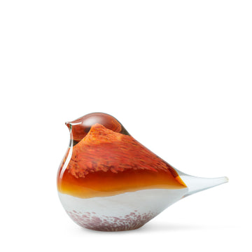Atlas Glass Bird - Orange