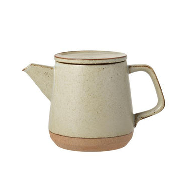 Ceramic Lab Teapot, 500ml - Beige