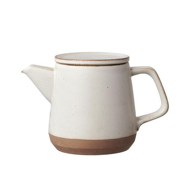 Ceramic Lab Teapot, 500ml - White