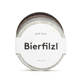 Bierfilzl Round Multi Colour Felt Coaster - Earth