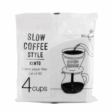 Porcelain Slow Coffee Style Brewer 4-Cup Filters - Merchant of York
