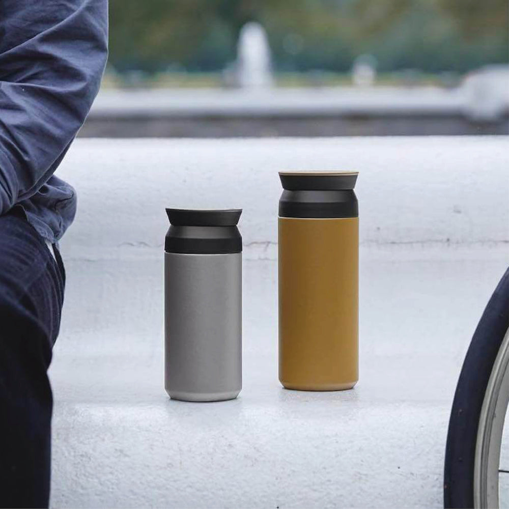 Travel Tumbler 350ml, Coyote by KINTO - Merchant of York Toronto