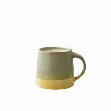 Slow Coffee Style Specialty Mug - Green/Yellow