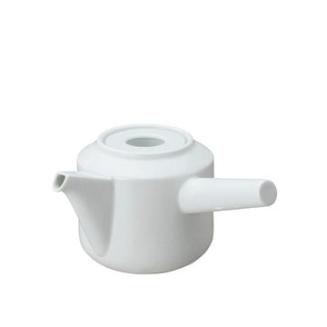Kyusu Teapot 300ml, White by KINTO - Merchant of York