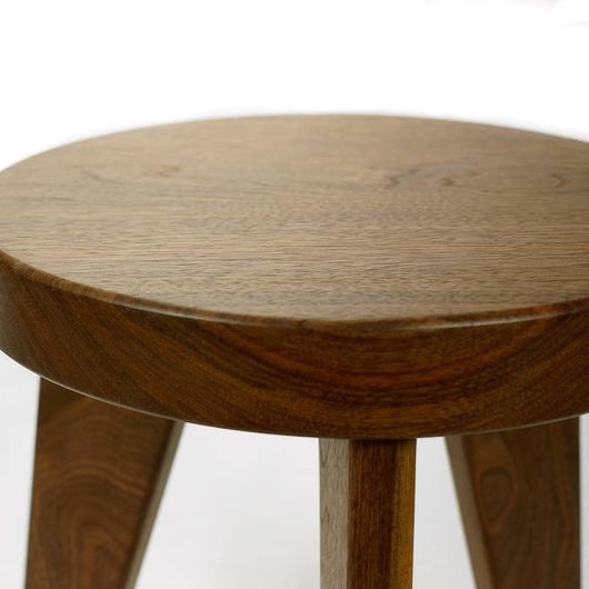 Modern Milkman Stool - Walnut by Nordic Woodshop - Merchant of York Toronto