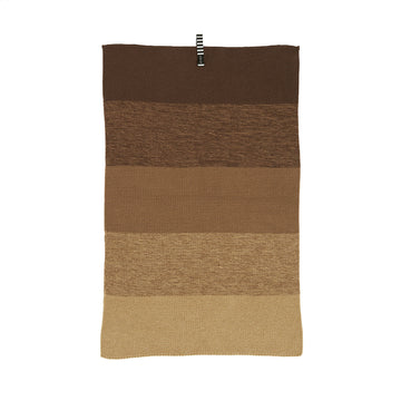 Niji Mini Towel - Brown