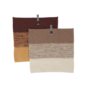 Niji Dishcloth - Brown