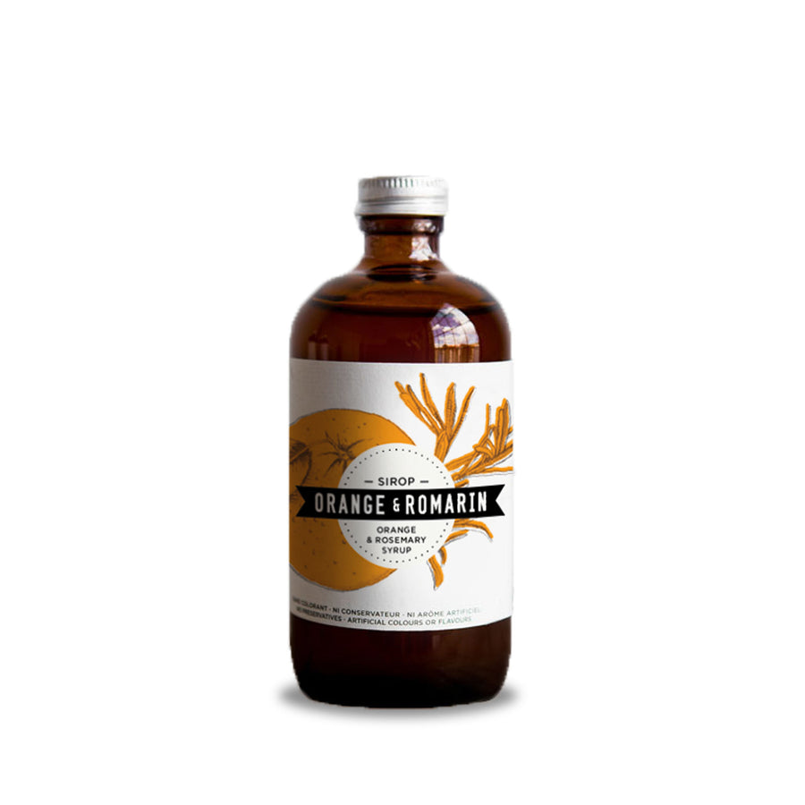 Orange & Rosemary Syrup - 235ml - Merchant of York