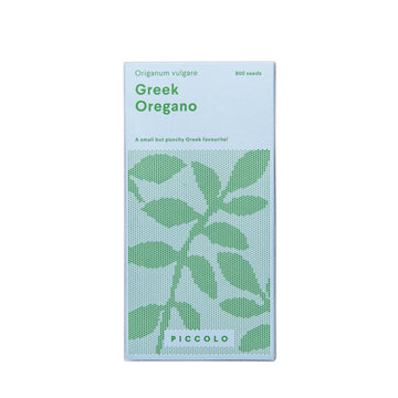 Greek Oregano Seed Packet