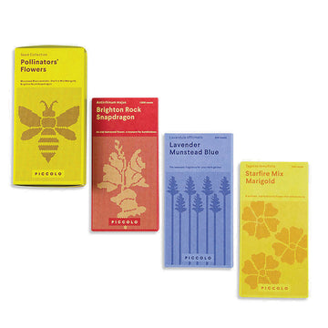 Pollinators' Flowers Collection Seed Packets