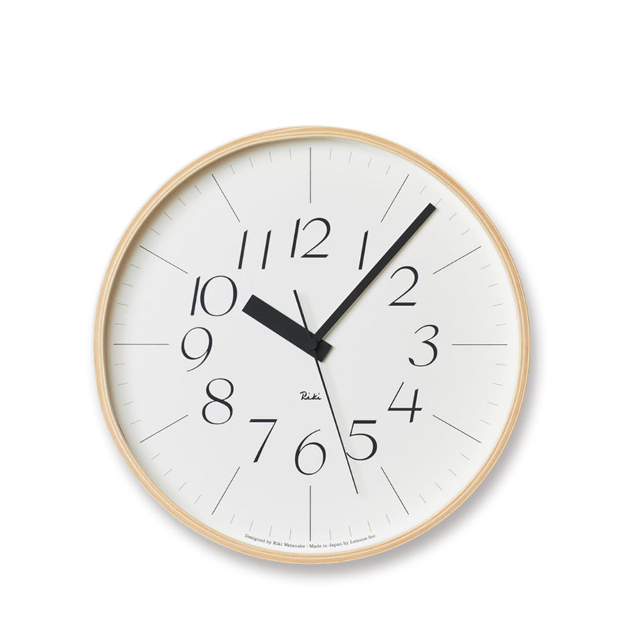 Riki Lightness Wall Clock