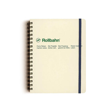 Rollbahn Spiral Notebook - Cream by Delfonics - Merchant of York
