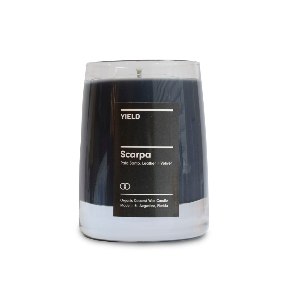 Scarpa Candle - 8oz by Yield - Merchant of York Toronto