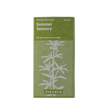Summer (Garden) Savoury Seed Packet