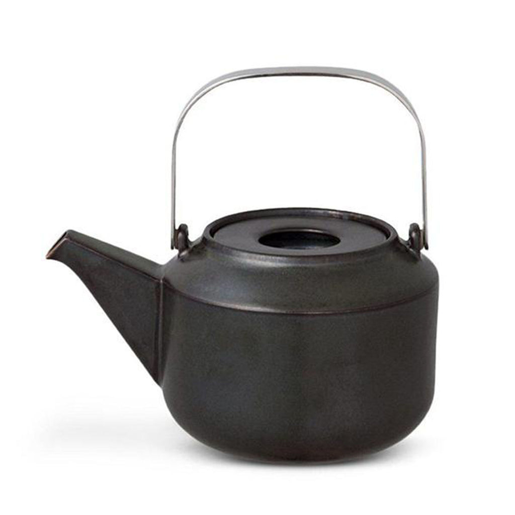 Leaves To Tea Teapot 600ml, Black