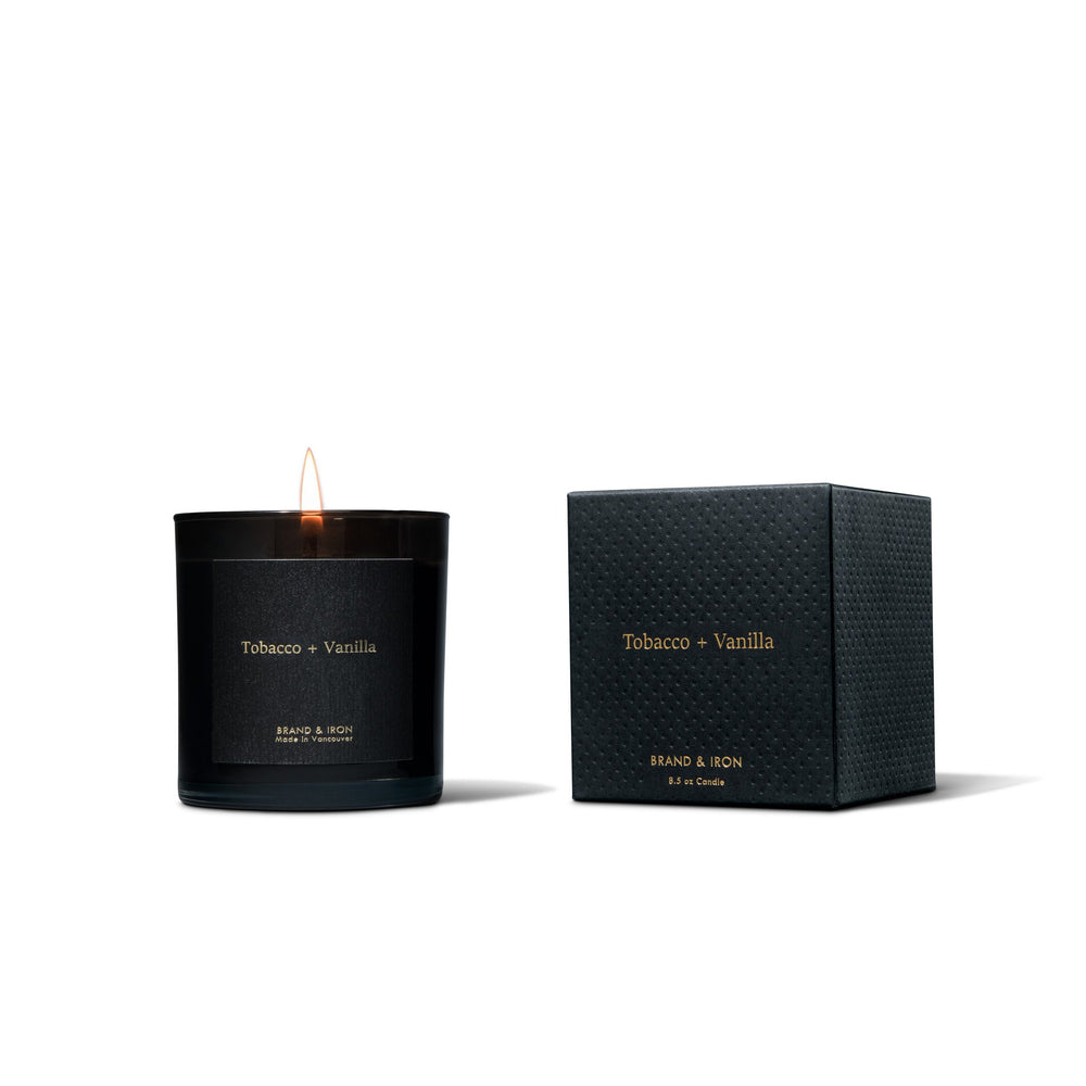 Tobacco + Vanilla Candle by Brand & Iron - Merchant of York Toronto