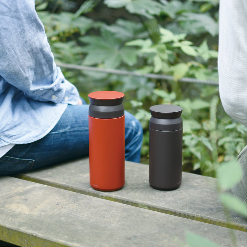 Travel Tumbler 350ml, Black by KINTO - Merchant of York
