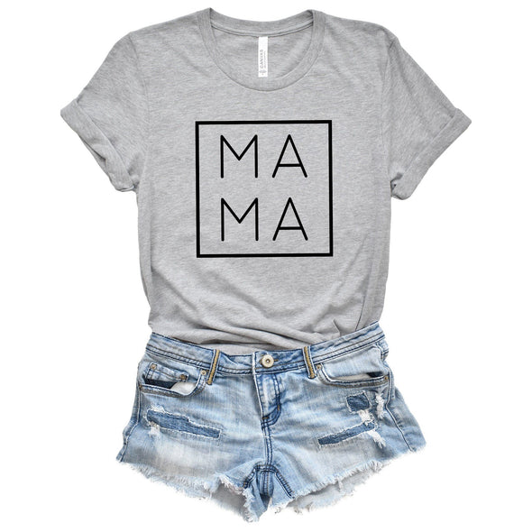Mama Unisex Tee Athletic Heather XS - Tierra Bella