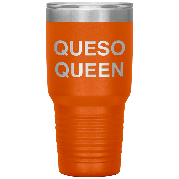 Queso Queen 30oz Tumbler Orange - Tierra Bella