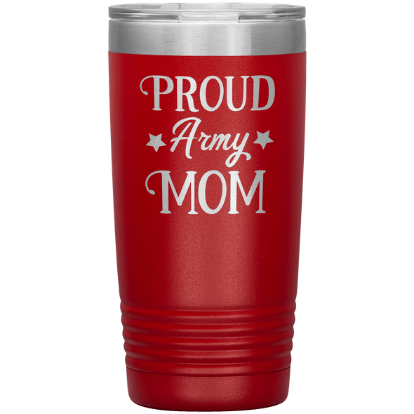 Proud Army Mom 20oz Tumbler Red - Tierra Bella