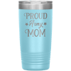Proud Army Mom 20oz Tumbler Light Blue - Tierra Bella