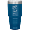 Just a Small Town Girl 30oz Tumbler Blue - Tierra Bella