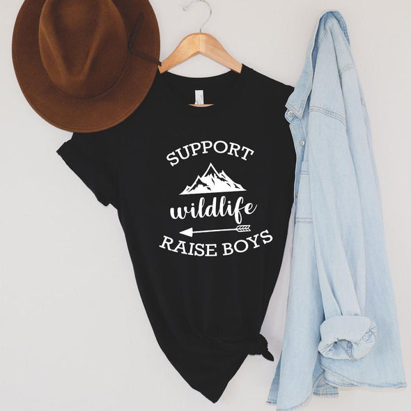 Support Wildlife Raise Boys Unisex Tee - Tierra Bella