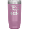 Proud Army Mom 20oz Tumbler Light Purple - Tierra Bella