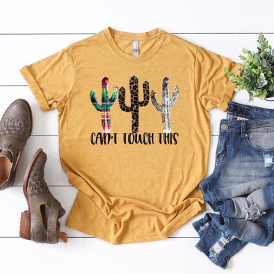 Can't Touch This Cactus Unisex Jersey Tee - Tierra Bella