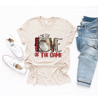 For The Love Of The Game Baseball Unisex Jersey Tee - Tierra Bella