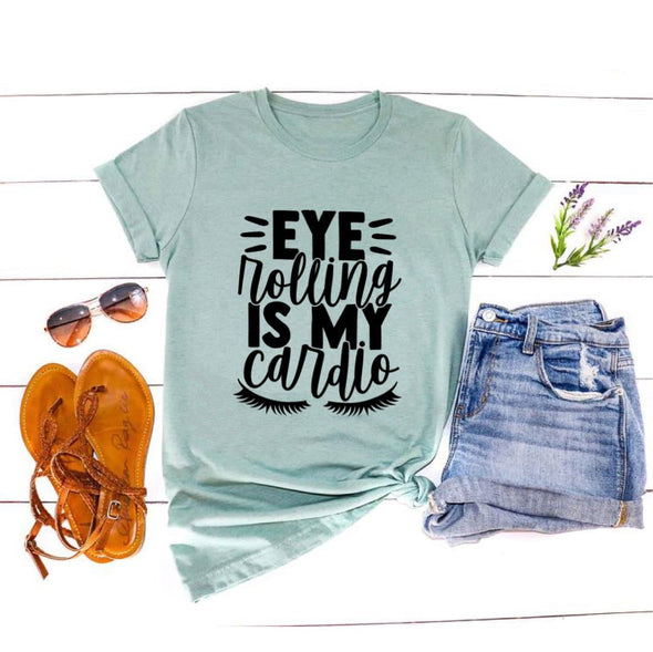 Eye Rolling Is My Cardio Unisex Jersey Tee - Tierra Bella