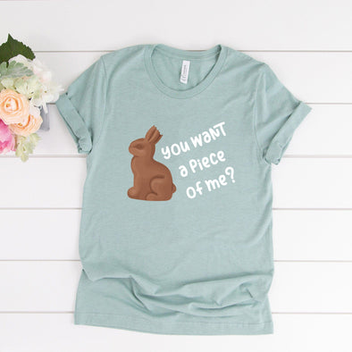 You Want a Piece Of Me Easter Unisex Jersey Tee - Tierra Bella