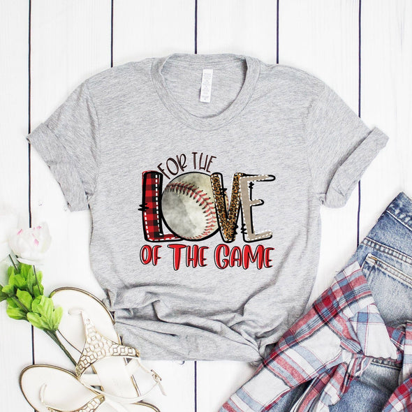 For The Love Of The Game Baseball Unisex Jersey Tee XS Athletic Heather - Tierra Bella