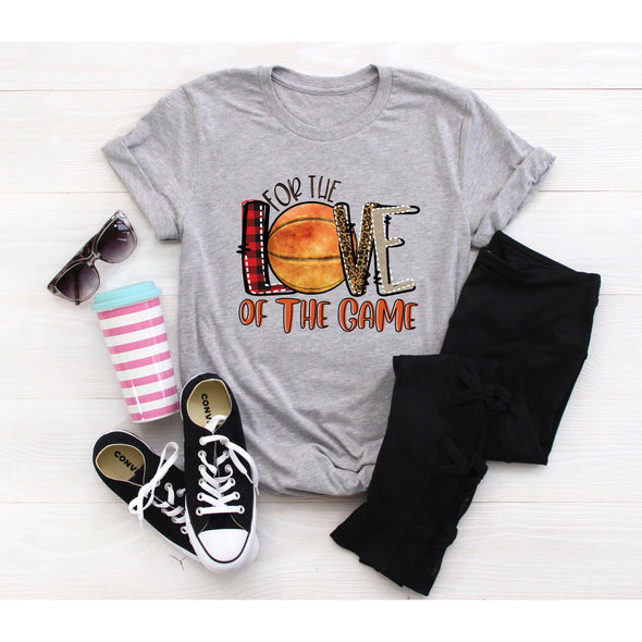 For The Love Of The Game Basketball Unisex Jersey Tee XS Athletic Heather - Tierra Bella
