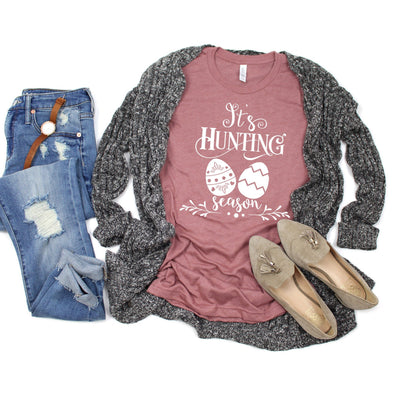 It's Hunting Season Easter Unisex Jersey Tee - Tierra Bella