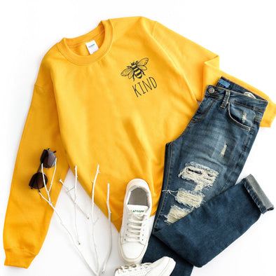 Bee Kind Sweatshirt - Tierra Bella