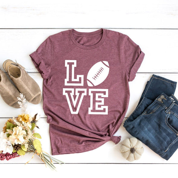 Football Love Unisex Jersey Tee - Tierra Bella