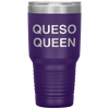 Queso Queen 30oz Tumbler Purple - Tierra Bella