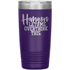 Hang on Let Me Overthink This 20oz Tumbler Purple - Tierra Bella