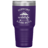Support Wildlife Raise Boys 30oz Tumbler Purple - Tierra Bella