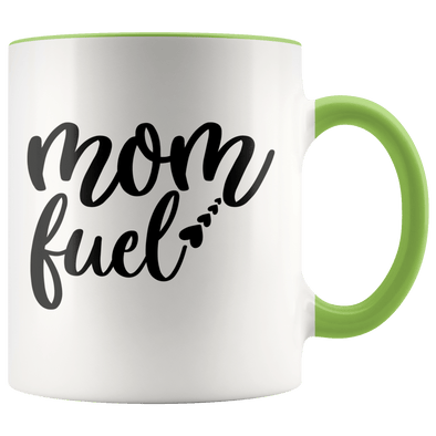 Mom Fuel Accent Mug Green - Tierra Bella