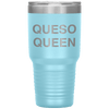 Queso Queen 30oz Tumbler Light Blue - Tierra Bella